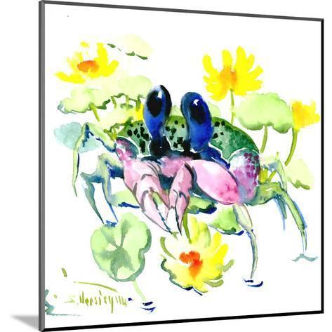 Baby Crab Blue Eyes-Suren Nersisyan-Mounted Art Print