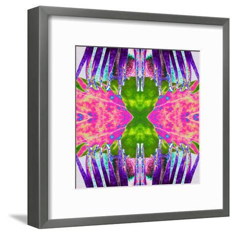 Passion Flower X2-Rose Anne Colavito-Framed Art Print