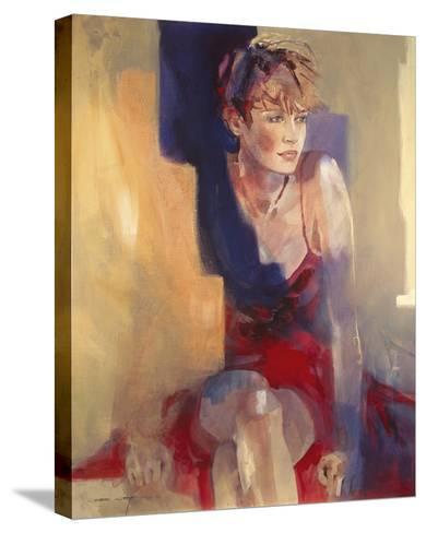 Odalisque I-Christine Comyn-Stretched Canvas Print