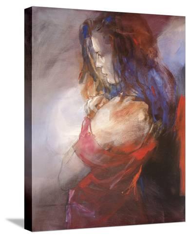 Odalisque II-Christine Comyn-Stretched Canvas Print