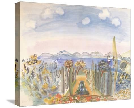 Baie des Anges, Nice-Raoul Dufy-Stretched Canvas Print