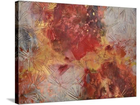 Sea Fan-Caroline Ashwood-Stretched Canvas Print
