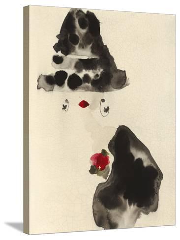 A Glamourous Hat-Bridget Davies-Stretched Canvas Print