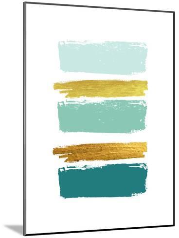 Brushes 1-Ikonolexi-Mounted Art Print