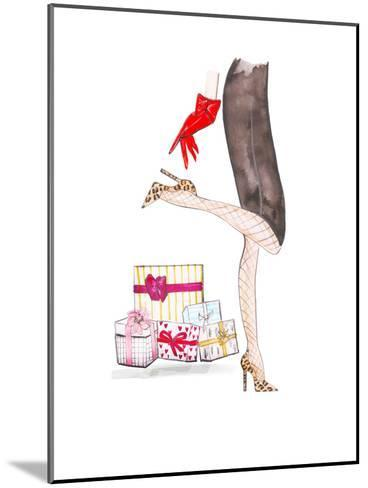 Legs Gifts- Alison B Illustrations-Mounted Art Print