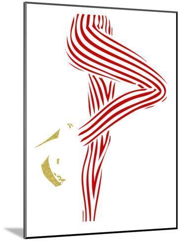 Woman 1-Ikonolexi-Mounted Art Print