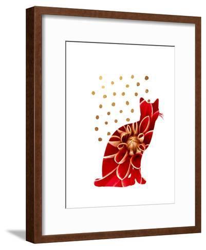 Cat 4-Ikonolexi-Framed Art Print