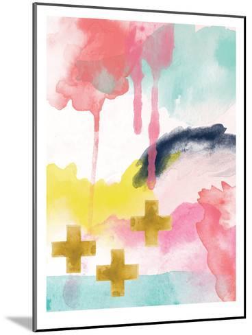 Abstract 1-Amy Brinkman-Mounted Art Print