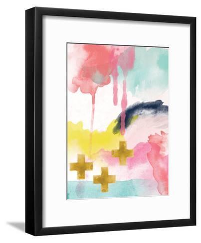 Abstract 1-Amy Brinkman-Framed Art Print