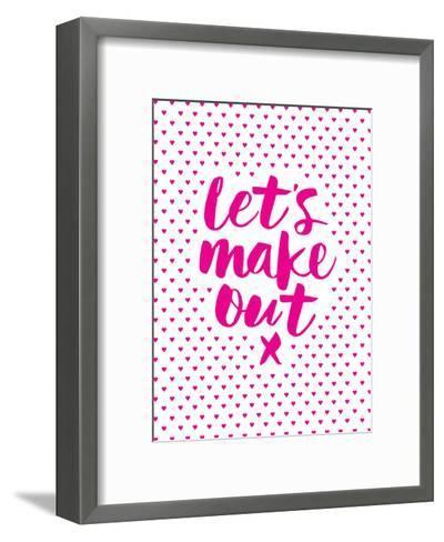 Let's Make Out-Brett Wilson-Framed Art Print