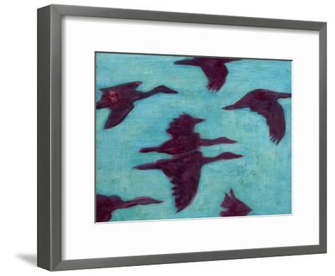 Flying Silhouettes II-Mehmet Altug-Framed Art Print