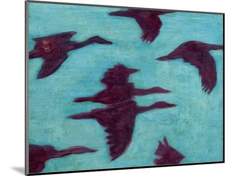 Flying Silhouettes II-Mehmet Altug-Mounted Art Print