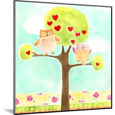 Hoots & Hearts I-June Vess-Mounted Art Print