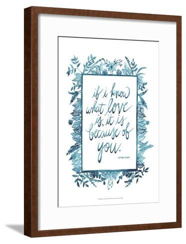Love Quote II-Grace Popp-Framed Art Print