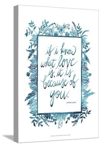 Love Quote II-Grace Popp-Stretched Canvas Print