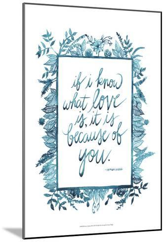 Love Quote II-Grace Popp-Mounted Art Print