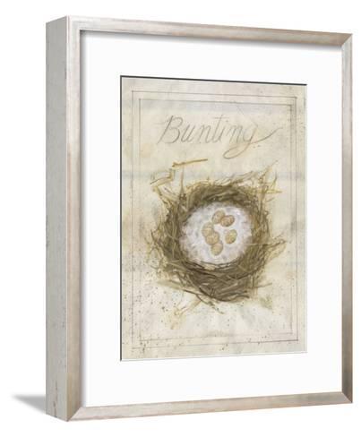Nest - Bunting-Elissa Della-piana-Framed Art Print