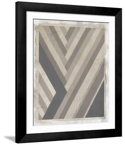 Neutral Rhythm II-Vanna Lam-Framed Art Print