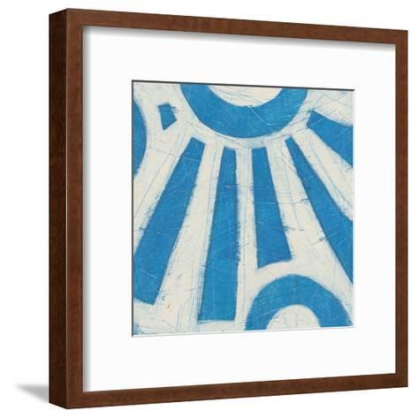 Spectrum Hieroglyph V-June Vess-Framed Art Print