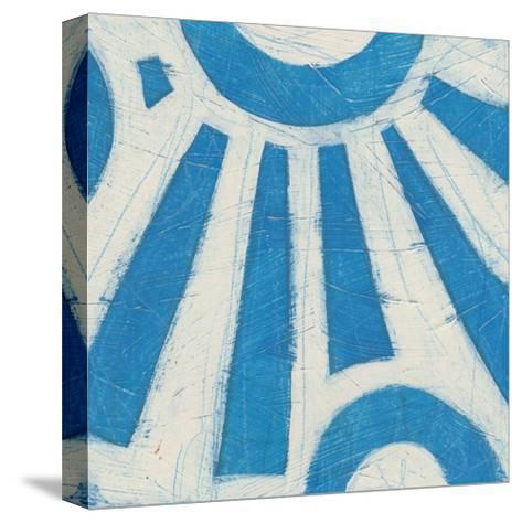 Spectrum Hieroglyph V-June Vess-Stretched Canvas Print