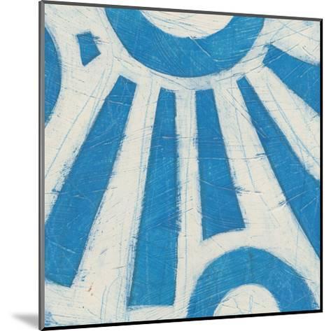 Spectrum Hieroglyph V-June Vess-Mounted Art Print
