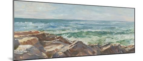 Impasto Ocean View III-Ethan Harper-Mounted Limited Edition