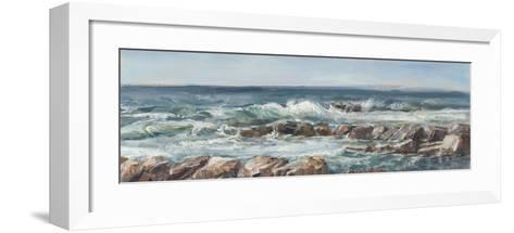 Impasto Ocean View V-Ethan Harper-Framed Art Print