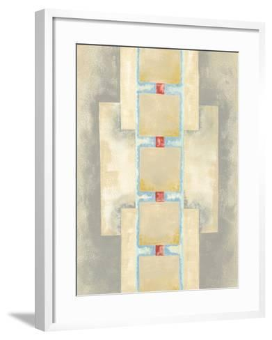 Squares in Line II-Nikki Galapon-Framed Art Print