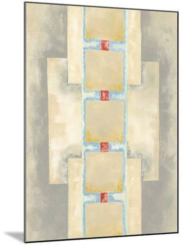 Squares in Line II-Nikki Galapon-Mounted Giclee Print