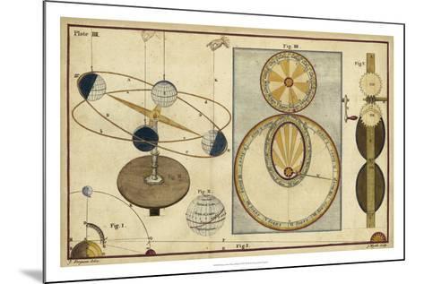 Distance of Sun, Moon & Planets-James Ferguson-Mounted Giclee Print