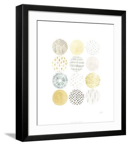 Orbital Patterns I-June Vess-Framed Art Print