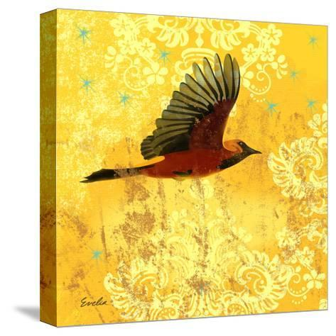 Oriole & Cartouche III-Evelia Designs-Stretched Canvas Print