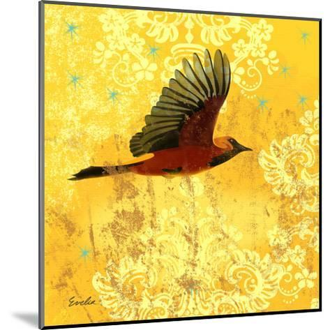 Oriole & Cartouche III-Evelia Designs-Mounted Art Print