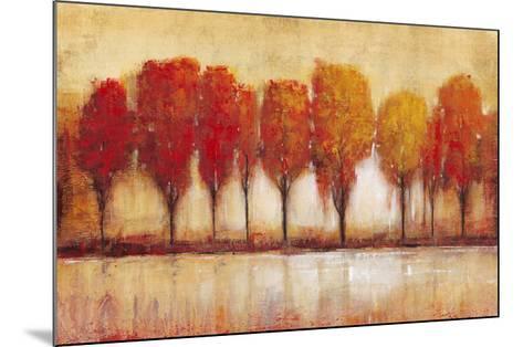 Autumn Water's Edge-Tim OToole-Mounted Art Print