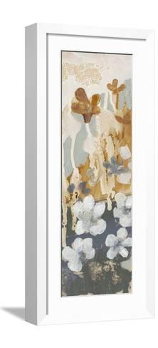 Drippy Flower Abstract II-Jennifer Goldberger-Framed Art Print