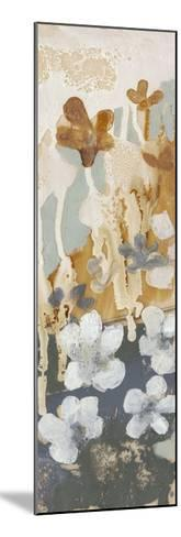 Drippy Flower Abstract II-Jennifer Goldberger-Mounted Limited Edition