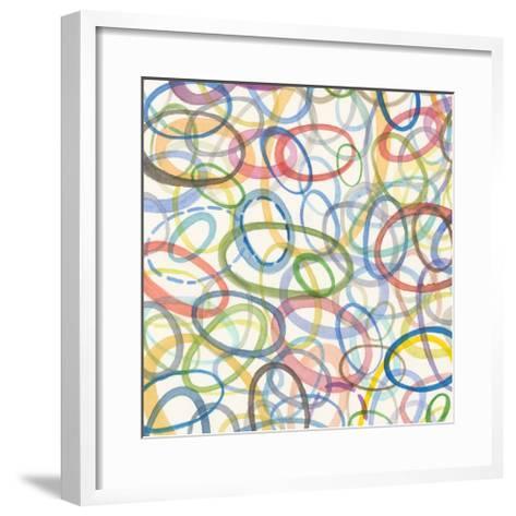 Oval Palette II-Nikki Galapon-Framed Art Print