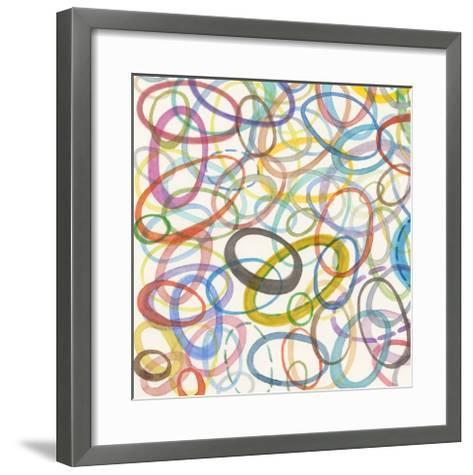 Oval Palette IV-Nikki Galapon-Framed Art Print