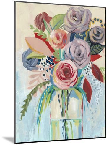 Roseate Posy I-Grace Popp-Mounted Art Print