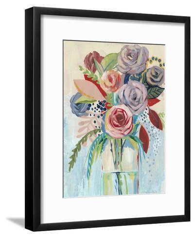 Roseate Posy I-Grace Popp-Framed Art Print