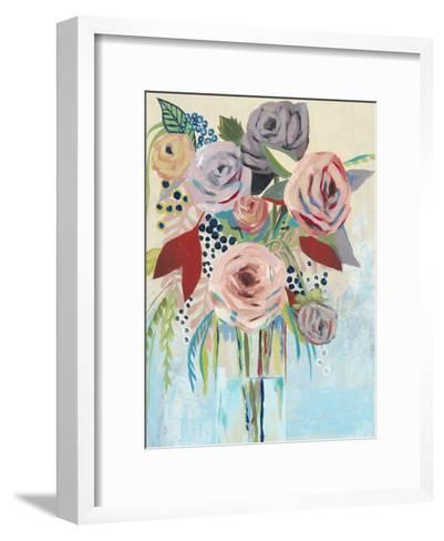 Roseate Posy II-Grace Popp-Framed Art Print