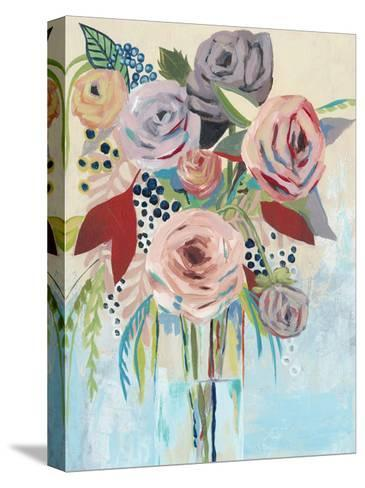 Roseate Posy II-Grace Popp-Stretched Canvas Print