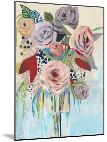 Roseate Posy II-Grace Popp-Mounted Art Print