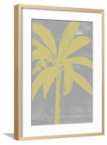 Chromatic Palms III-Jennifer Goldberger-Framed Art Print