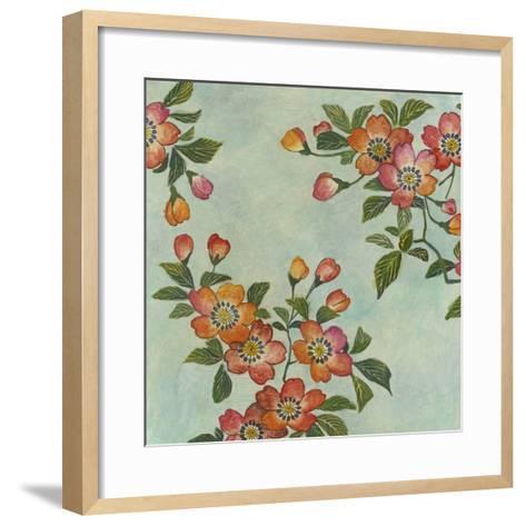 Eastern Blossoms I-Megan Meagher-Framed Art Print