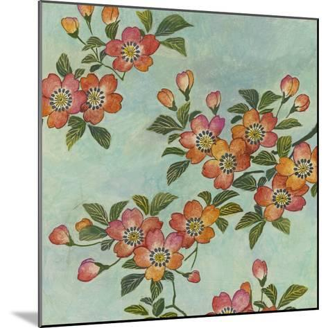 Eastern Blossoms II-Megan Meagher-Mounted Giclee Print