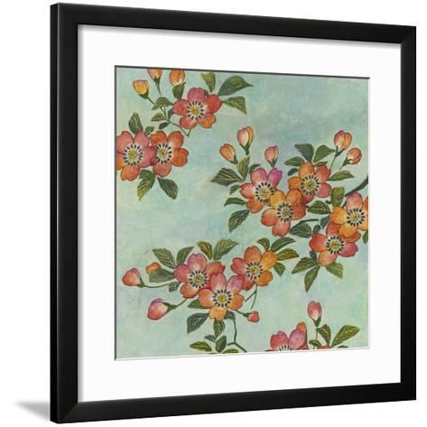 Eastern Blossoms II-Megan Meagher-Framed Art Print