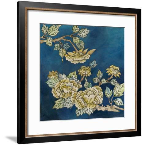 Eastern Floral II-Megan Meagher-Framed Art Print