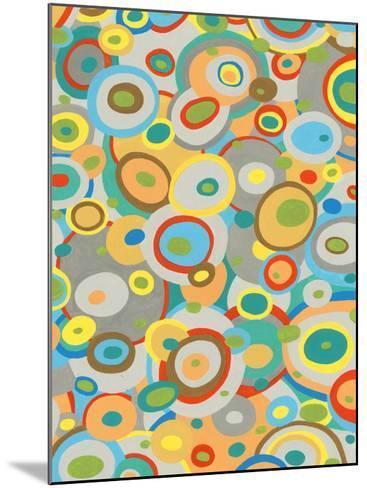 Overlapping Ovals II-Nikki Galapon-Mounted Giclee Print