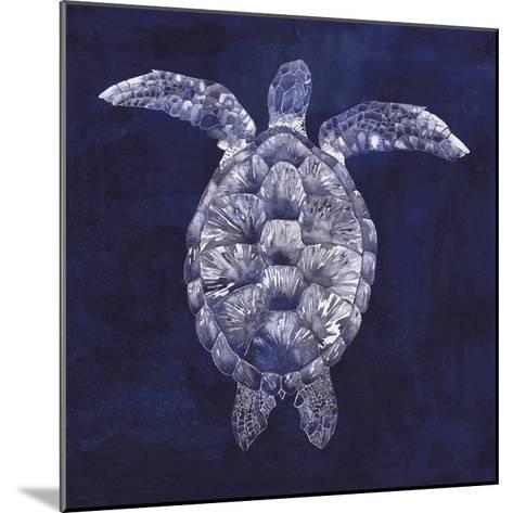 Sea Turtle Shadow I-Grace Popp-Mounted Art Print